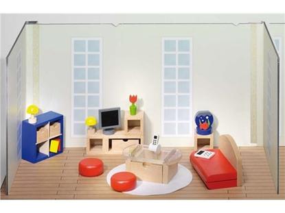 Billede af Stuemøbler til dukkehus