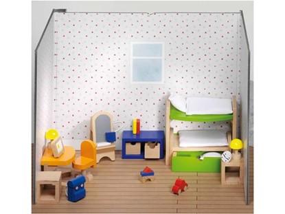 Billede af Børneværelse til dukkehus