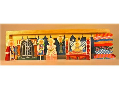 Billede af Prinsessen på ærten puslespil/bordteater