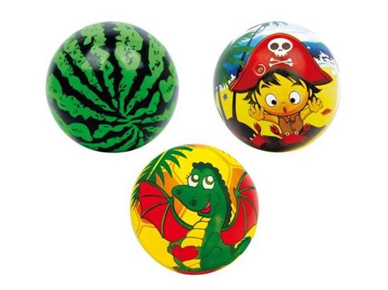 Billede af Small foot, 3 Farverige bolde med glade motiver