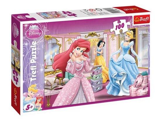 Billede af Prinsesse puslespil 100 brikker