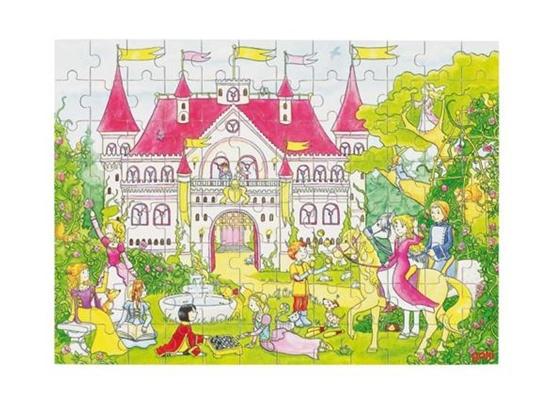 Billede af Puslespil - Fantasi slottet
