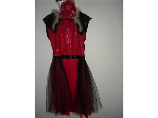 Billede af Selskabskjole, kostume til kørestols bruger