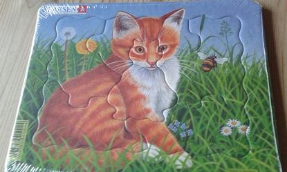 Billede af Larsen Puslespil. Kattekilling.