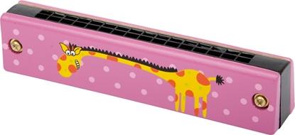 Billede af Mundharmonika med giraf