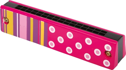 Billede af Mundharmonika med mønster