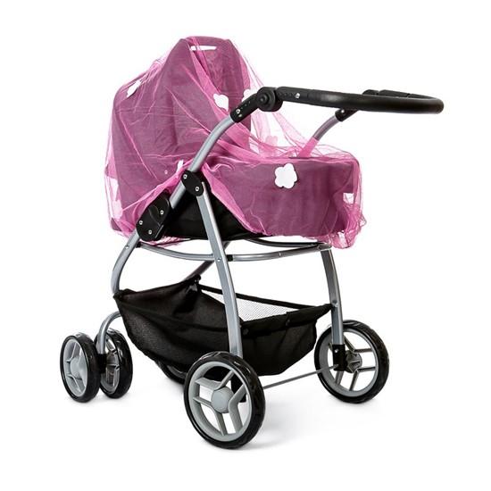 Billede af Myggenet til dukkevogn. Pink -mini mommy