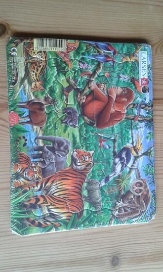 Billede af Larsen  puslespil. Afrikas dyr.