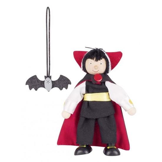 Billede af Vampyr figur med flagermus