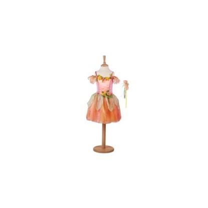 Billede af Udklædning, Fersken Blomsterpige fra Travis Design