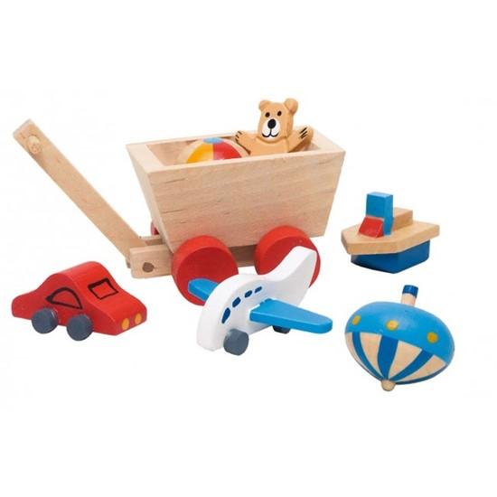 Billede af Legetøj til dukkehus børneværelset