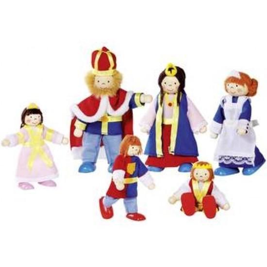 Billede af Kongelig familie til dukkehus