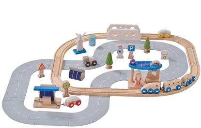 Billede af Bæredygtig tog og vejbane sæt   fra Everearth