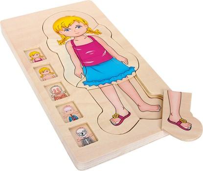 Billede af Puslespil Pige Anatomi