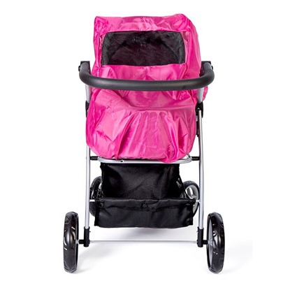 Billede af Regnslag til dukkevogn, Pink - mini mommy