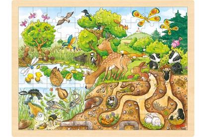 Billede af Puslespil - Naturens forunderlige verden