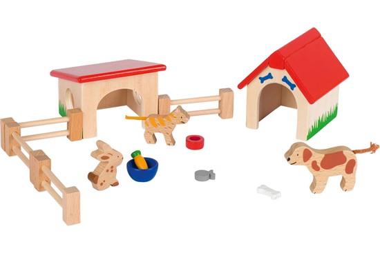 Billede af Kæledyr til dukkehus