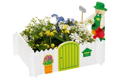 Billede af Dukkehus blomsterbed