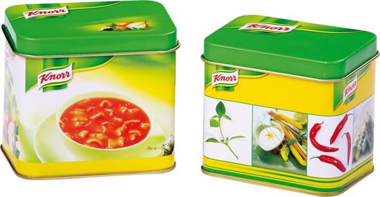 Billede af Knorr suppe dåser - legemad