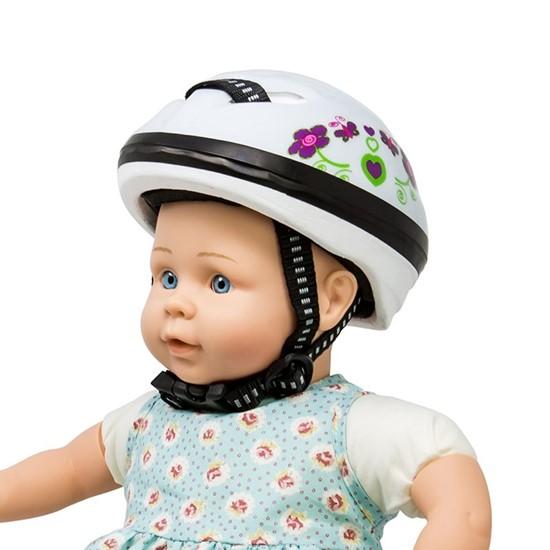 Billede af Cykelhjelm til dukker mini mommy