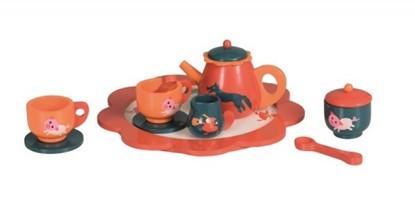Billede af Dukke kaffe stel i træ fra Egmont Toys