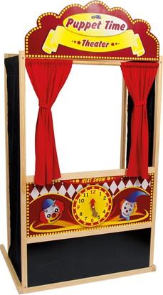 Billede af Dukke teater træscene