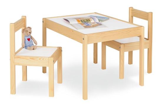 Billede af Pinolino Børnebord og stolesæt