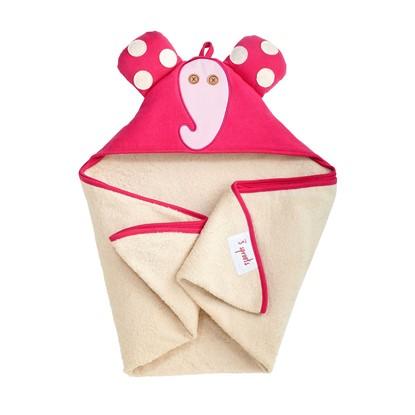 Billede af 3 SPROUTS Baby Badehåndklæde Elefant