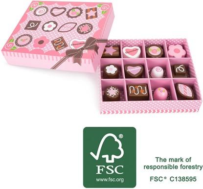 Billede af Chokolade I æske -legemad