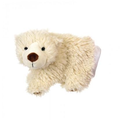 Billede af Hånddukke - Isbjørn