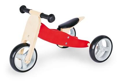 Billede af Pinolino kombi Trehjulet og Løbecykel