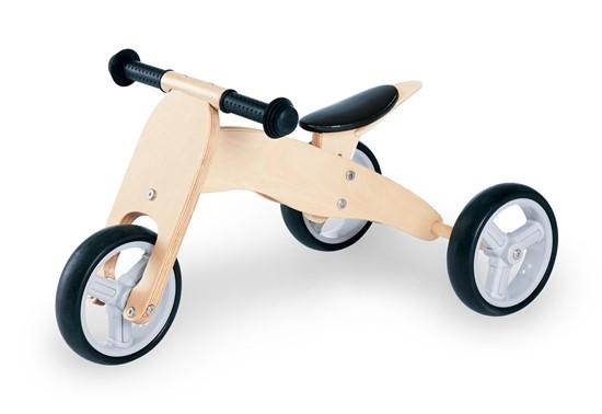 Billede af Pinolino kombi Trehjulet og Løbecykel, natur