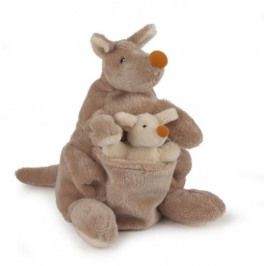 Billede af Hånddukke Kængura med unge