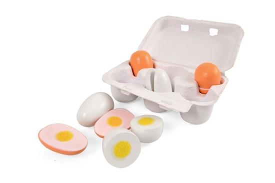 Billede af 6 æg i bakke