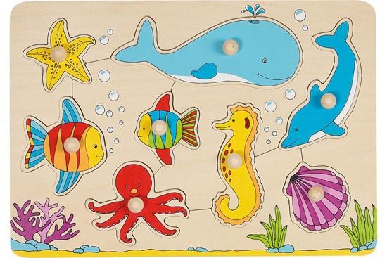 Billede af Knoppuslespil - Livet i vandet