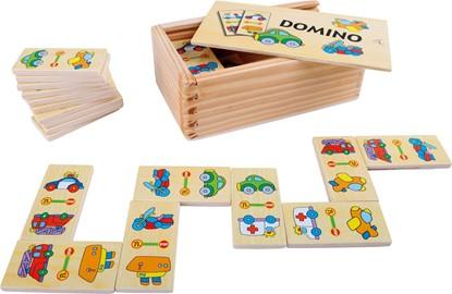 Billede af Domino spil med køretøjer