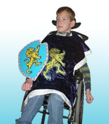 Billede til varegruppe Kostumer til kørestolsbrugere