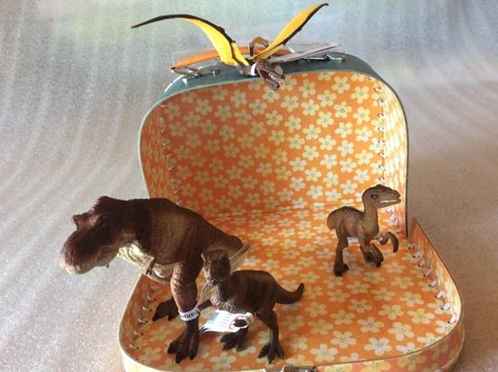 Billede af Forhistoriske dyr i kuffert