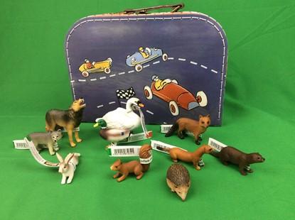 Billede af Dyr i den danske natur - i kuffert