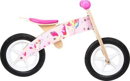 Billede af Small Foot - Balance cykel unicorn/pink