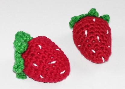 Billede af Hæklet Legemad - Jordbær