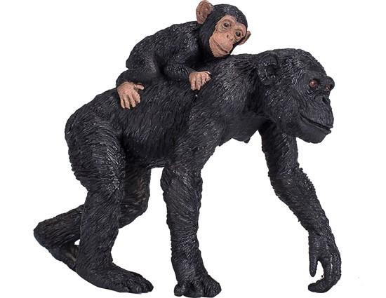 Billede af Animal Planet - Chimpanse med unge