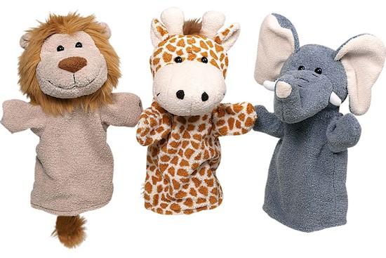 Billede af Hånddukker - Vilde dyr
