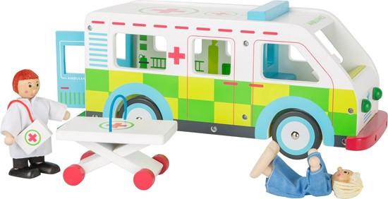 Billede af Ambulance med dukker