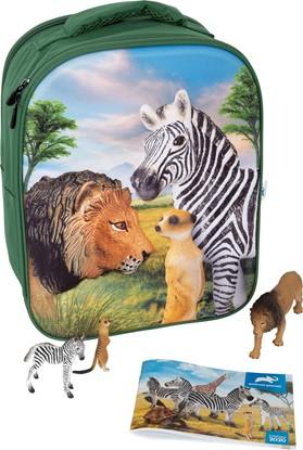 Billede af 3D rygsæk - Savannens dyr - Animal Planet