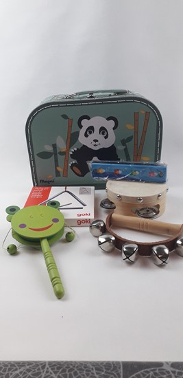 Billede af Instrumenter i kuffert - Panda
