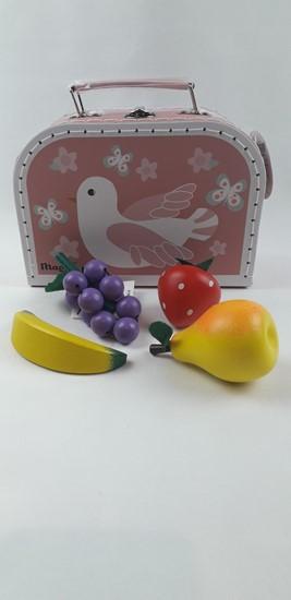 Billede af Legemad, frugt i kuffert - fugl