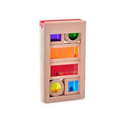Billede af Regnbue - lyd boks