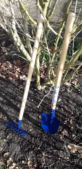 Billede af Have redskaber til   børn - 2 sæt, blå