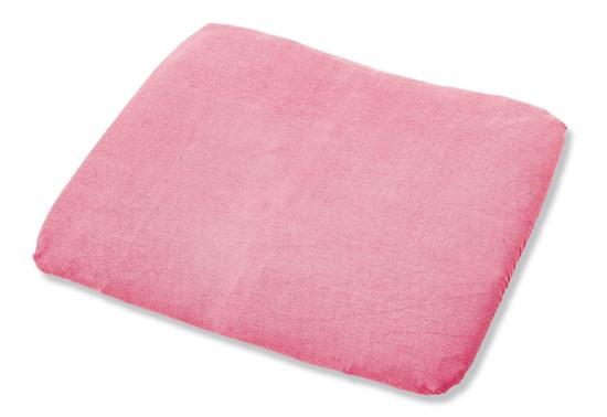 Billede af Pinolino Betræk frotte, til puslepude stor Komfort - Gammel rosa